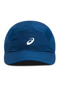 Niebieska czapka z daszkiem Asics sportowa