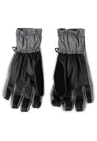 Szare rękawiczki sportowe Burton snowboardowe