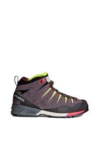 Szare buty trekkingowe Dolomite z cholewką, Gore-Tex