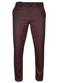 Czerwone spodnie Rigon na co dzień, eleganckie