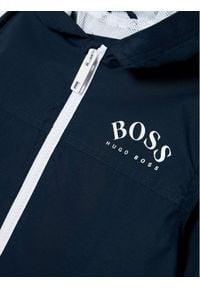 BOSS - Boss Kurtka przejściowa J26432 S Granatowy Regular Fit. Kolor: niebieski