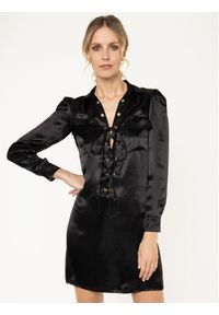 Czarna sukienka koszulowa Manila Grace