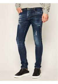 John Richmond Jeansy Skinny Fit Iggy MP20122JE Granatowy Skinny Fit. Kolor: niebieski. Materiał: jeans #1