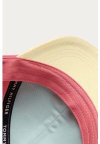 Wielokolorowa czapka z daszkiem TOMMY HILFIGER