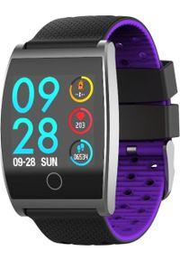 Fioletowy zegarek Garett Electronics smartwatch, sportowy