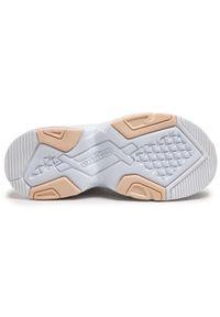 Kappa - Sneakersy KAPPA - Crumpton 242928 White/Rose 1021. Okazja: na spacer, na co dzień. Kolor: biały. Materiał: materiał. Szerokość cholewki: normalna. Sezon: lato. Styl: casual