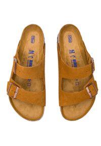 Birkenstock - Klapki BIRKENSTOCK - Arizona Bs 1009526 Mink. Kolor: brązowy. Materiał: skóra, zamsz. Styl: klasyczny #5