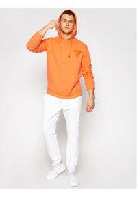 Guess Bluza U1GA08 K68I1 Pomarańczowy Regular Fit. Kolor: pomarańczowy