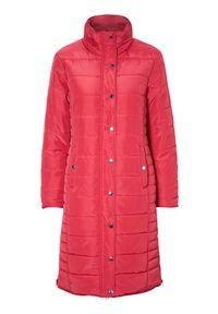 Czerwony płaszcz Cellbes ze stójką