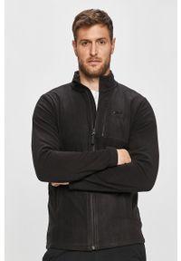 Czarna bluza rozpinana 4f casualowa, na co dzień, bez kaptura