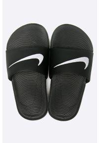 Czarne klapki Nike Kids