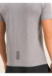 EA7 Emporio Armani T-Shirt 8NPT52 PJM5Z 3905 Szary Regular Fit. Kolor: szary