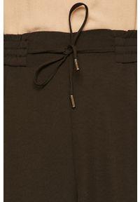 Czarne spodnie materiałowe Vila casualowe, na co dzień #4