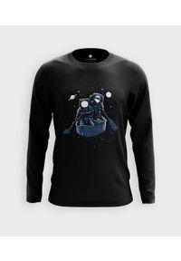 MegaKoszulki - Koszulka męska z dł. rękawem Kosmiczny rejs. Materiał: bawełna