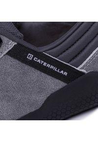 CATerpillar - Półbuty CATERPILLAR - Hex P724183 Glacier Grey. Okazja: na co dzień. Kolor: szary. Materiał: skóra, nubuk, materiał. Szerokość cholewki: normalna. Styl: sportowy, casual