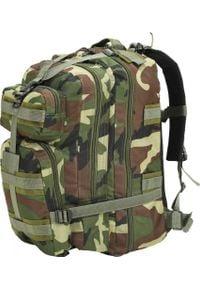 Plecak turystyczny vidaXL Wojskowy 65 l (91383). Styl: militarny