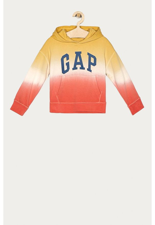 Pomarańczowa bluza GAP z kapturem, na co dzień