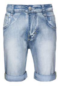 Niebieskie spodenki jeansowe Primigi
