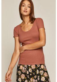 medicine - Medicine - T-shirt Basic. Kolor: różowy. Materiał: dzianina. Wzór: gładki