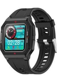 Smartwatch Colmi P10 Czarny (P10 Black). Rodzaj zegarka: smartwatch. Kolor: czarny