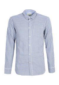 Niebieska koszula TOP SECRET na co dzień, na zimę
