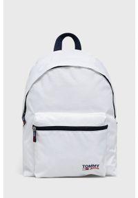 Tommy Jeans - Plecak. Kolor: biały. Materiał: poliester