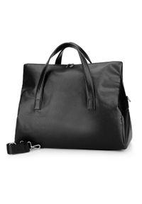 Czarna torba podróżna Wittchen elegancka