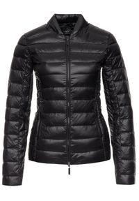 Armani Exchange Kurtka puchowa 8NYB01 YNM4Z 1200 Czarny Slim Fit. Kolor: czarny. Materiał: puch