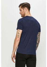 Niebieski t-shirt s.Oliver casualowy, na co dzień
