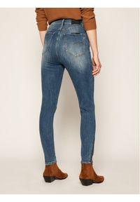 G-Star RAW - G-Star Raw Jeansy Super Skinny Fit Ankle D17223-9136-B823 Granatowy Super Skinny Fit. Kolor: niebieski. Materiał: jeans