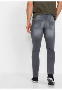Dżinsy dresowe Skinny Fit Straight bonprix szary denim. Kolor: szary #6