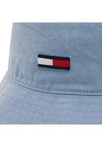 Tommy Jeans - Bucket TOMMY JEANS - Flag Washed Denim AW0AW10193 C2W. Kolor: niebieski. Materiał: poliester, bawełna, materiał