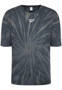 Reebok Classic - Reebok T-Shirt Classics Tie-Dye GL9757 Szary Relaxed Fit. Kolor: szary