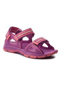 Różowe sandały Merrell na lato