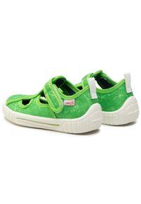 Zielone kapcie Superfit