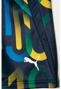 Niebieskie spodenki Puma na co dzień, sportowe