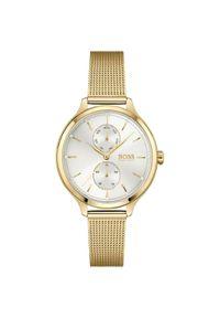 Złoty zegarek HUGO BOSS elegancki