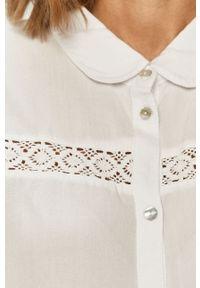 Biała koszula Jacqueline de Yong klasyczna, na co dzień, z długim rękawem