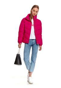 Różowa kurtka TOP SECRET krótka, na jesień