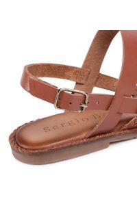 Brązowe sandały Sergio Bardi