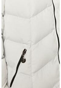 Biała kurtka Answear Lab z kapturem, na co dzień, wakacyjna