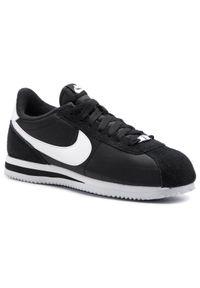 Czarne buty sportowe Nike z cholewką, Nike Cortez, na co dzień