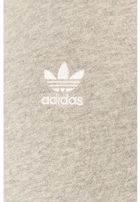 Szara bluza nierozpinana adidas Originals melanż, z kapturem