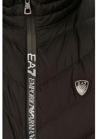 EA7 Emporio Armani - Bezrękawnik puchowy. Okazja: na co dzień. Kolor: czarny. Materiał: puch. Długość rękawa: bez rękawów. Styl: casual