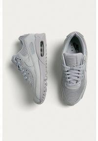 Nike - Buty Air Max 90. Nosek buta: okrągły. Zapięcie: sznurówki. Kolor: szary. Materiał: guma. Model: Nike Air Max, Nike Air Max 90