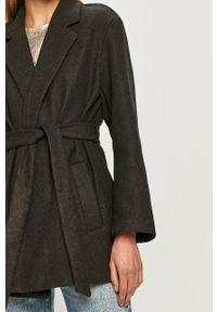 Szary płaszcz only bez kaptura, klasyczny
