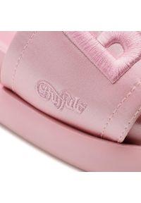 Różowe klapki Buffalo