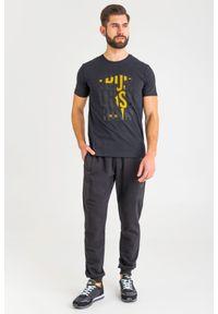 T-shirt Trussardi Jeans na co dzień, z okrągłym kołnierzem