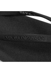 Czarne japonki Emporio Armani