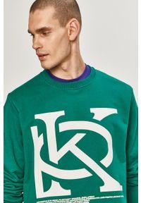 Prosto. - Prosto - Bluza. Okazja: na co dzień. Kolor: zielony. Wzór: nadruk. Styl: casual